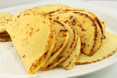 Corn tortillas Royalty Free Stock Photos