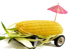 Corn Truck 01 Royalty Free Stock Photo