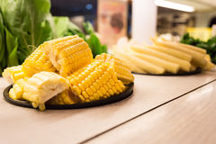 Corn and vegetable Royalty Free Stock Photos