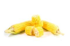 Corn. On a white background Stock Photo
