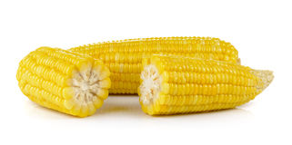 Corn on white background Stock Images