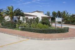 Cornalvo Visitors Centre, Spain Royalty Free Stock Photo