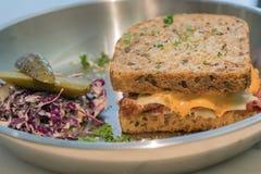 Cornbeef sandwish Стоковые Фото