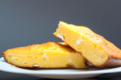 Cornbread with cheese Stock Photography