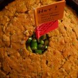 Cornbread con Jalapeños Imagen de archivo