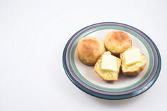 Cornbread Muffins. Steaming hot and fresh cornbread muffins Stock Image