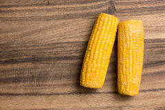 Corncob Cooking Background Stock Image