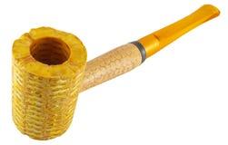 Corncob pipe Royalty Free Stock Photos