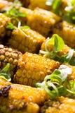 corncobs зажгли желтый цвет Стоковая Фотография
