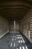 Corncrib interno Immagine Stock