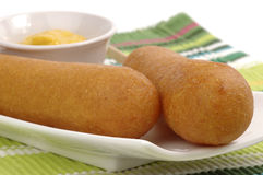 Corndog Royalty Free Stock Photo