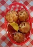 Corndog muffin Royaltyfri Foto