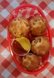 Corndog muffins Royalty Free Stock Photo