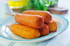 Corndogs Royalty Free Stock Photo