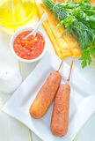Corndogs Royalty Free Stock Image