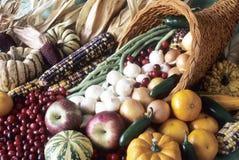 Corne d'abondance de générosité et de couleur d'automne. Photos stock