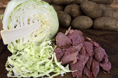 Corned Beef Brisket Stock Photo