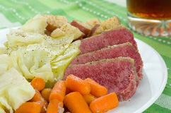 Corned Beef Cabbage Stock Image