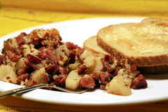 Corned Beef Hash Stock Image