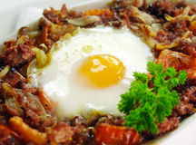 Corned Beef Hash Royalty Free Stock Photo