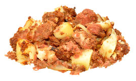 Corned Beef Hash Meal Royalty Free Stock Photography