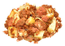 Corned Beef Hash Meal Royalty Free Stock Photos