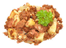 Corned Beef Hash Meal Stock Photography