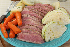 Corned Beef Meal Stock Photos