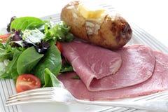Corned beef salad Stock Photo