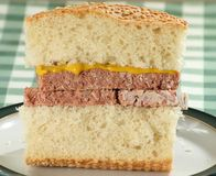 Corned Beef Sandwich Royalty Free Stock Photography