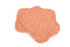 Corned beef slices Stock Photos