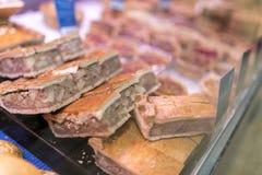 Corned wołowiny i gruli taca piec pasties z shortcrust ciastem Zdjęcie Royalty Free