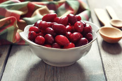 Cornel berries Stock Photos