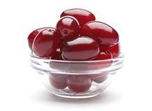Cornel berry Stock Photo