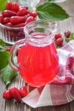 Cornel juice Stock Images
