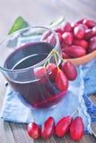 Cornel juice Royalty Free Stock Photo