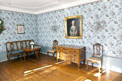 Cornelia Goethe's Room in the Goethe House in Frankfurt am Main Stock Photo