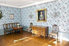 Cornelia Goethe's Room in the Goethe House in Frankfurt am Main Stock Photo
