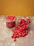 Cornelian cherries compote Royalty Free Stock Photography