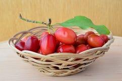 Cornelian cherries Royalty Free Stock Image
