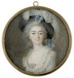 Cornelius Höyer (1741−1804): The Dancer Giovanna Bassi / Tanssijatar Giovanna Bassi / Dansösen Giovanna Bassi Royalty Free Stock Photos