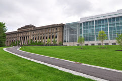Cornell Campus byggnad royaltyfri foto