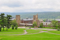 Cornell Campus landscape Royalty Free Stock Photo