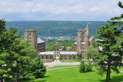 Cornell Campus landscape Stock Photography