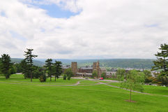 Cornell Campus landscape Royalty Free Stock Image