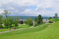 Cornell Campus landscape Royalty Free Stock Photos