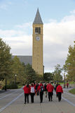 Cornell Universitaire Campus in Ithaca Stock Foto's