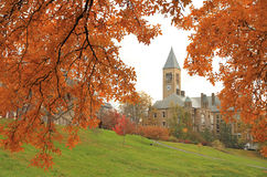 Cornell University Campus in Ithaca royalty free stock photography
