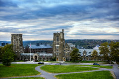Cornell University Overlook Fotografia de Stock