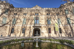 Cornella de Llobregat,Catalonia,Spain. Palace of Can Mercader, Cornella de Llobregat, province Barcelona, Catalonia Stock Photo